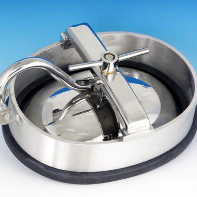 High Pressure Oval Tank Manways designed for side/bottom installation