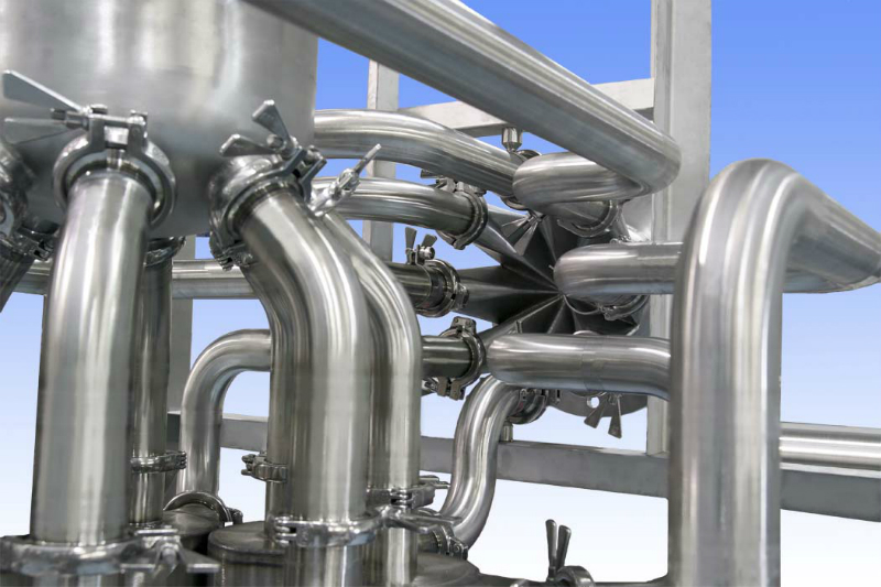Stainless Steel Pipework Fabrication - Axium Process