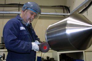 Axium Process tank polishing