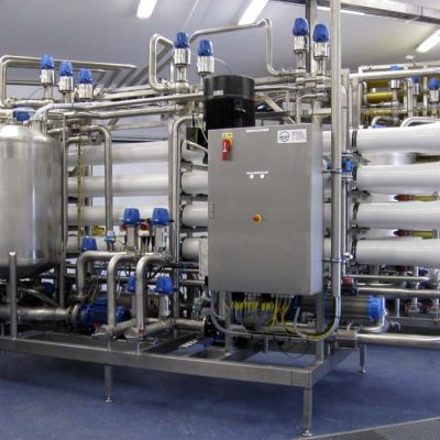 Reverse Osmosis and Ultrafiltration Membrane System For Ice-Cream Manufacturer