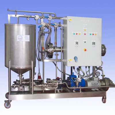 "250L Nanofiltration And Reverse Osmosis Membrane Pilot Plant which can be used for both ""in-process applications"" or for waste stream concentration or purification."