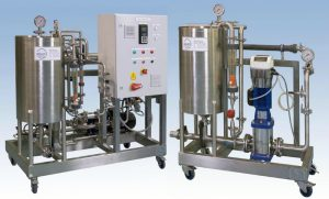 Axium Process - Ultrafiltration and reverse osmosis pilot plants