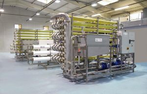 Ultrafiltration and Reverse Osmosis Effluent Treatment Plant
