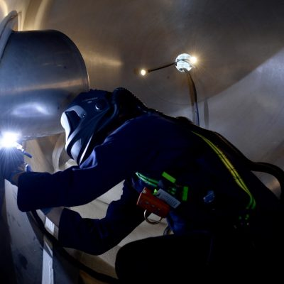 Confined Space Welding – Tanks