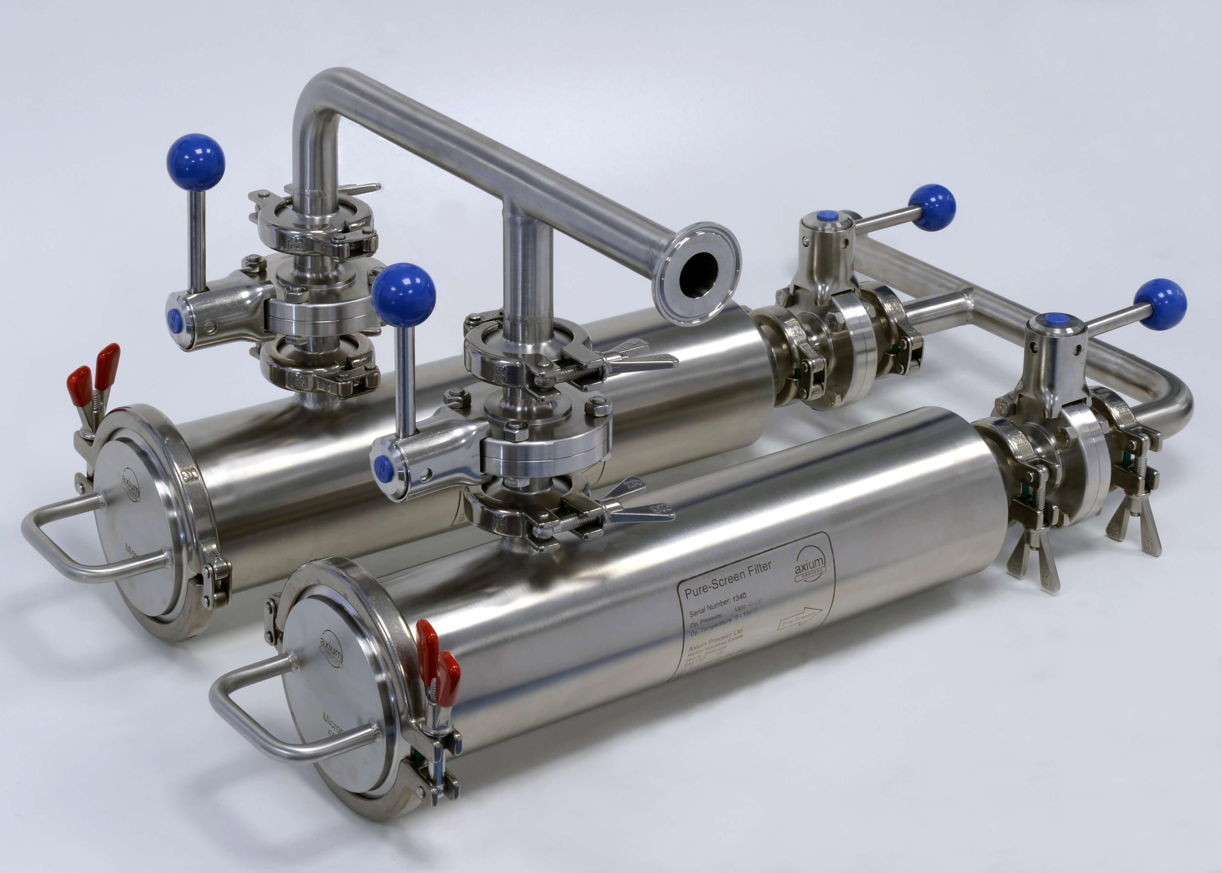 316l Stainless Steel Filters Custom Made Axium Process Ltd