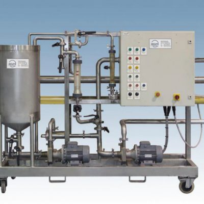 "100 Litre Ultrafiltration Pilot Plant which can be used for both ""in-process applications"" or for waste stream concentration or purification."