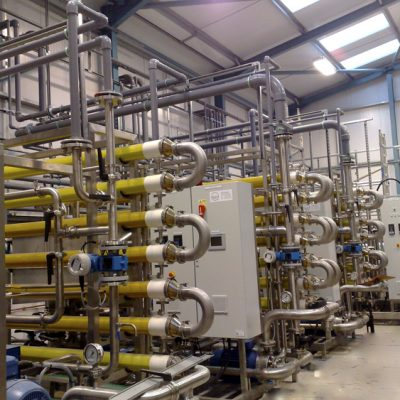 Membrane Filtration For Dyehouse Effluent Treatment Utilising Reverse Osmosis and Ultrafiltration Technologies