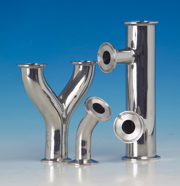 Hygienic stainless steel fabrication component customisation