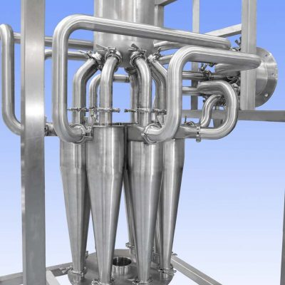Stainless Steel Cyclones For Chemical Industry