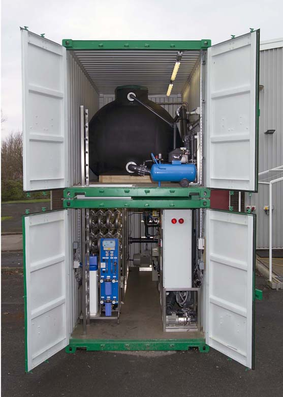Mobile Membrane Filtration Units For Treatment Of Landfill Leachate