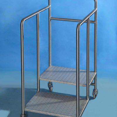 Stainless Steel Mobile Trolleys