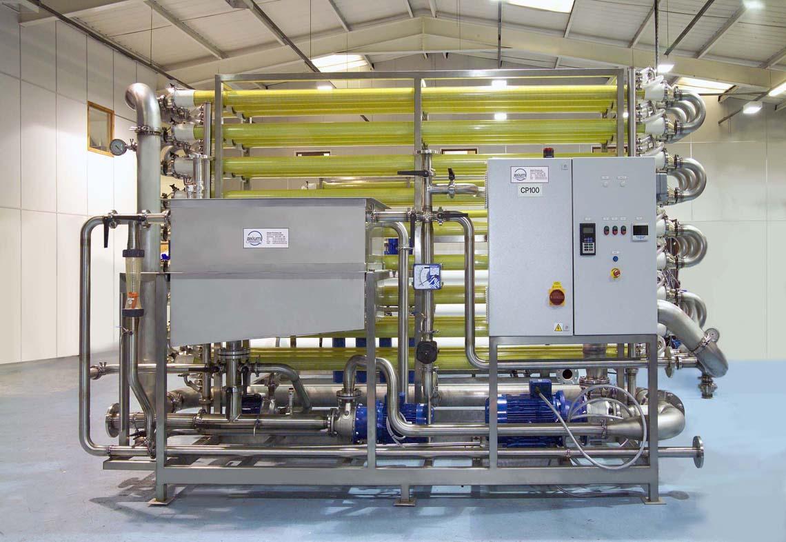 Membrane Filtration Pilot Plants For Effluent Treatment