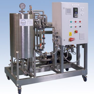 "Reverse Osmosis Pilot Plant For Aberystwyth University and can be used for both ""in-process applications"" or for waste stream concentration or purification."
