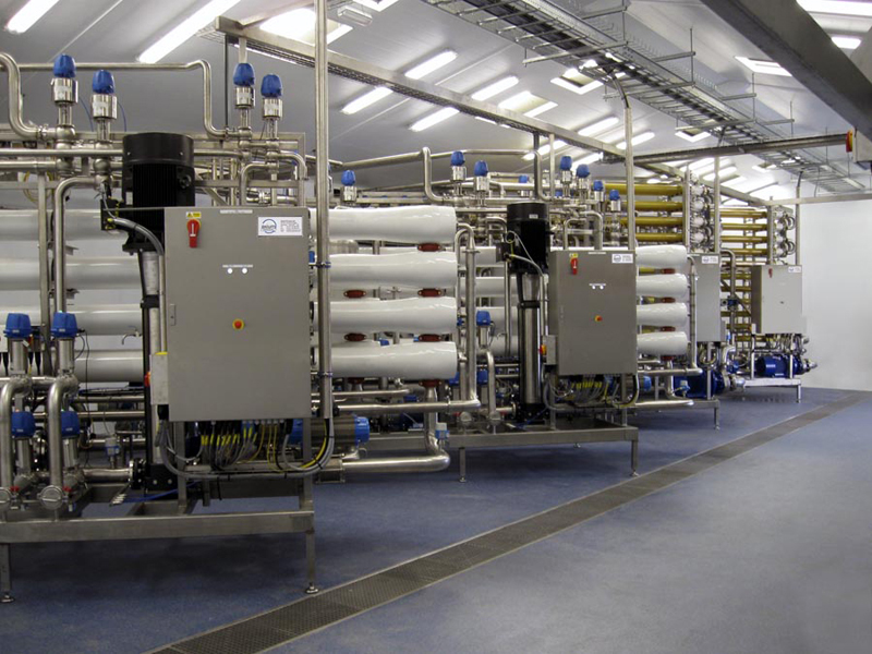 Ultrafiltration and Reverse Osmosis Membrane Filtration System For The Treatment Of Dairy Effluent