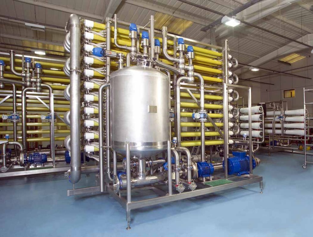 Ultrafiltration Membrane System for Dairy Applications designed for the concentration and separation of liquid streams.