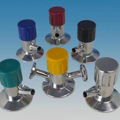 Colour Coded Handles For Stainless Steel Sample Valve Range