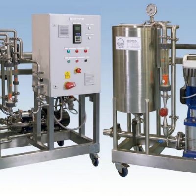 "Ultrafiltration and Reverse Osmosis Bespoke Pilot Plants which can be used for both ""in-process applications"" or for waste stream concentration or purification."
