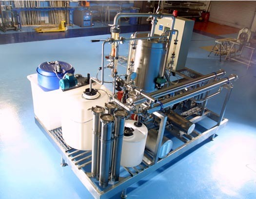 Ultrafiltration System For Batch Concentration And Desalting Of Enzymes