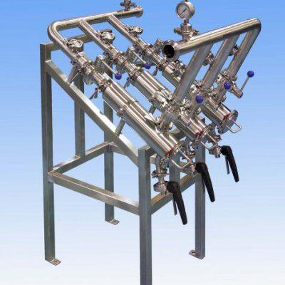 Triplex Stainless Steel Filter Arrangement
