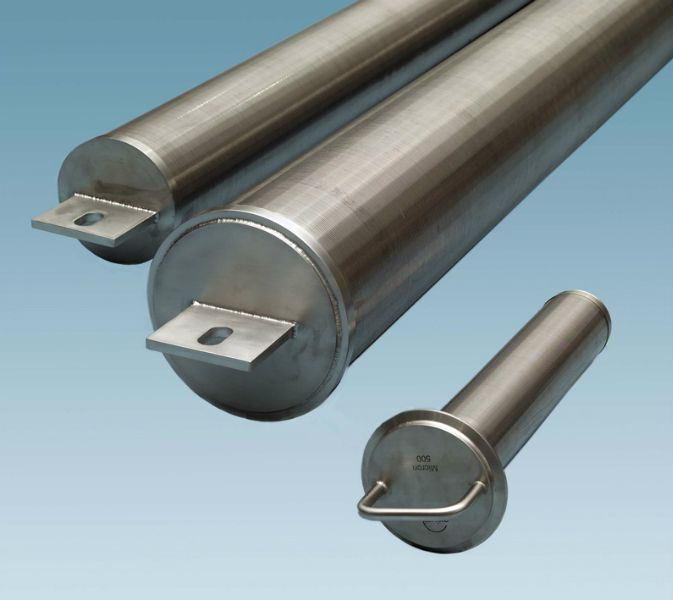 Stainless Steel Perforated Sheet Filter designed for applications ...