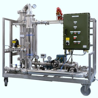 Mobile Atex Zone One Rated Membrane Filtration System
