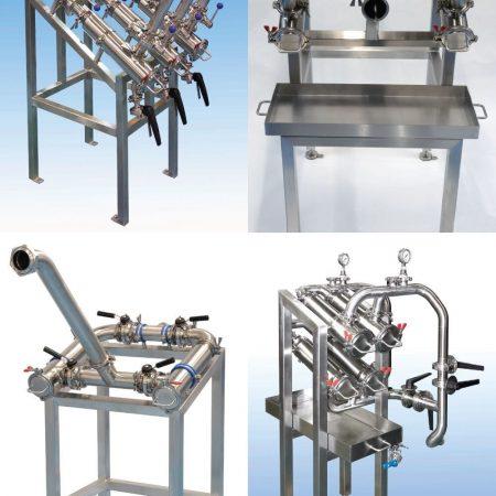 Duplex, triplex and multiplex filter systems