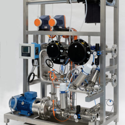 Pharmacetical Grade CIP System complete with steam gear and heat exchanger