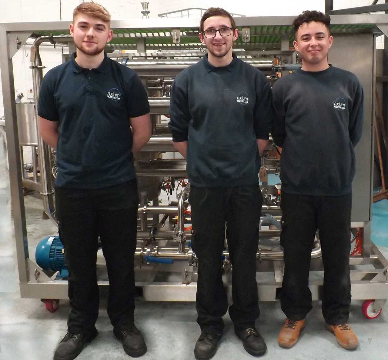 We at Axium Process are very proud of our apprentices who are making a very positive contribution to our company.
