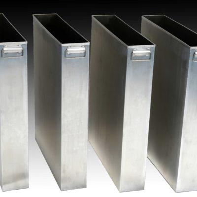 Aluminium Waste Bins