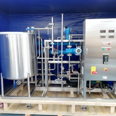 Reverse Osmosis Mobile Skid Unit